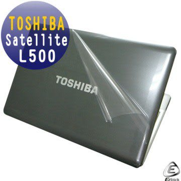 EZstick機身保護貼-TOSHIBA Satellite L500  系列專用(含上蓋及鍵盤週圍)機身貼