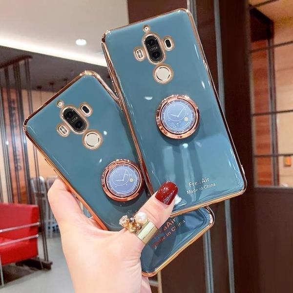 新品特價 華為mate9手機殼MATE9電鍍全包防摔軟殼mha-al00網紅女款tl00