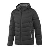 Adidas DD90 STRETCH [AY4099] 男款 運動 休閒 短版 輕量 保暖 羽絨 外套 愛迪達 黑