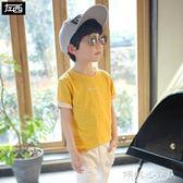 男童上衣 童裝男童短袖T恤兒童純棉上衣中大童韓版潮 傾城小鋪