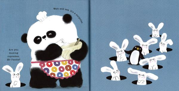 【熊貓先生套書合輯】MR. PANDA /五書合售全新套裝 作家:Steve Antony