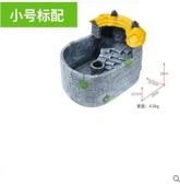 養龜的專用缸烏龜別墅房子豪華帶曬臺創意小型龜池原生態龜箱家用 8號店WJ