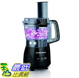 [107美國直購] 切菜機食物調理機 Hamilton Beach 70510 4 Cup Stack & Snap Compact Food Processor, Black