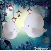 ins少女心創意禮物小夜燈學生幽靈獨角獸恐龍月亮兒童臥室床頭燈·蒂小屋