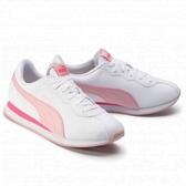 PUMA Turin II 女款白粉皮革質感休閒鞋-No.36696220