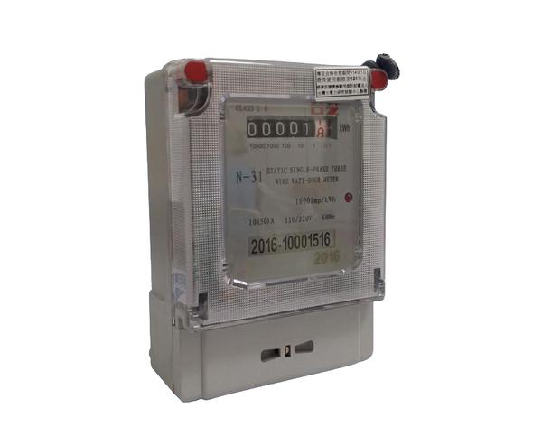 台芝電器 電子式分電錶 20~80安培 全電壓 已檢驗單相兩線式