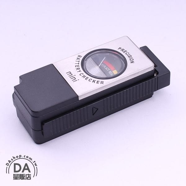 電池測電器 電池檢測器 電池測試器 1.5V-9V 可測 電池 電力測試 指針型 測量儀器(34-010)