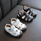 男童涼鞋 寶寶涼鞋男夏季新款小童兒童防滑軟底包頭沙灘鞋男童 城市科技