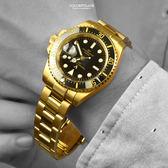 Valentino coupeau黑金不鏽鋼錶NEV84