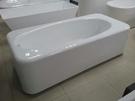 【麗室衛浴】英國ICI KERAMIN 時尚簡約渾厚 ICI 頂級壓克力造型獨立缸 170*80*H60