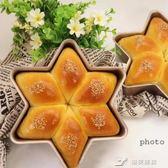金色不粘雪花型六角形芝士 慕斯蛋糕模創意烘焙模具 樂芙美鞋