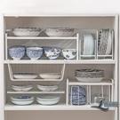廚房置物架瀝水碗架櫥柜碗盤碟筷收納餐具下水槽分層臺面架子家用【邻家小鎮】