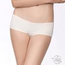 LADY 夢幻W系列 蕾絲中低腰平口內褲(光影白)