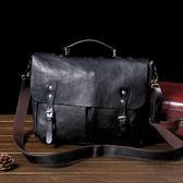 百變金剛 經典公事包 電腦包  側背/手提包【Solomon 原創設計皮件】
