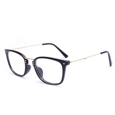 鏡框(方框)-時尚新款舒適輕盈男女平光眼鏡5色73oe9【巴黎精品】