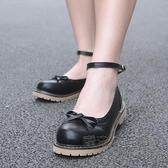 牛津鞋 瑪麗珍日系復古平跟淺口學院女鞋子平底小皮鞋牛津鞋春森系單鞋 魔法鞋櫃