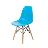 樂嫚妮 北歐復刻辦公餐椅-4入組藍