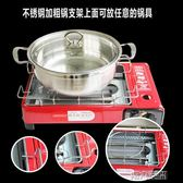 烤肉架 燒烤爐戶外便攜式燃氣燒烤爐家用液化氣燒烤爐無煙烤架卡式燒烤爐 igo 第六空間