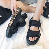 夏季男士涼鞋時尚沙灘拖鞋外穿人字拖夏天    傑克型男館