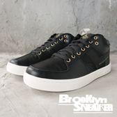 PONY Atop 黑 皮革 網布 金屬鞋孔 滑板鞋 男 (布魯克林) 2018/10月 83M1AT01BK