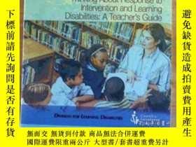 二手書博民逛書店Thinking罕見About Response To Intervention And Learning Dis