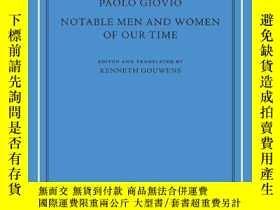 二手書博民逛書店Notable罕見Men And Women Of Our TimeY256260 Paolo Giovio
