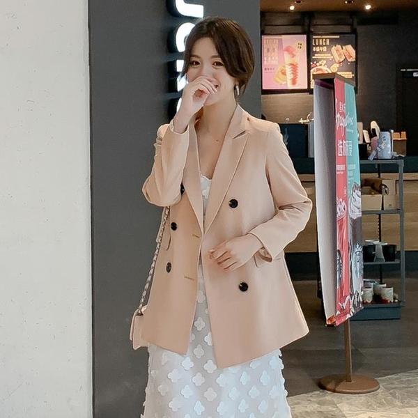 西裝外套 2021春季新款韓版小西裝時尚百搭中長款外套港風休閒女士西服外套