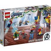 樂高積木 LEGO《 LT76196 》SUPER HEROES 超級英雄系列 - 驚喜月曆 / JOYBUS玩具百貨