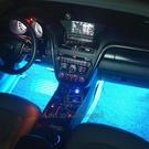 汽車氛圍燈車內LED腳底燈氣氛燈七彩節奏燈【輕派工作室】
