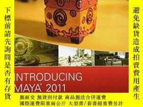二手書博民逛書店Introducing罕見Maya 2011Y256260 Dariush Derakhshani Sybex