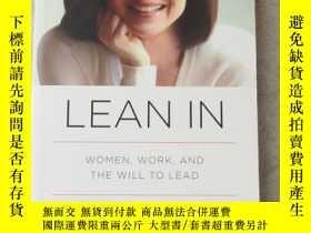 二手書博民逛書店Lean罕見In: Women, Work, and the Will to LeadY21478 Shery