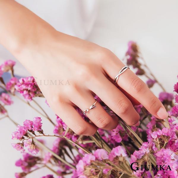 GIUMKA愛心銀戒尾戒女獨愛戒指 生日送禮紀念禮物推薦 附贈拭銀布MRS07007