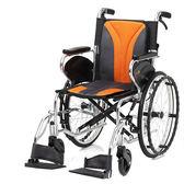 加碼送餐桌板+木單拐 均佳 機械式輪椅 (未滅菌) 鋁合金製 JW-450