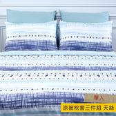 HOLA 陌阡木棉絲涼被枕套三件組
