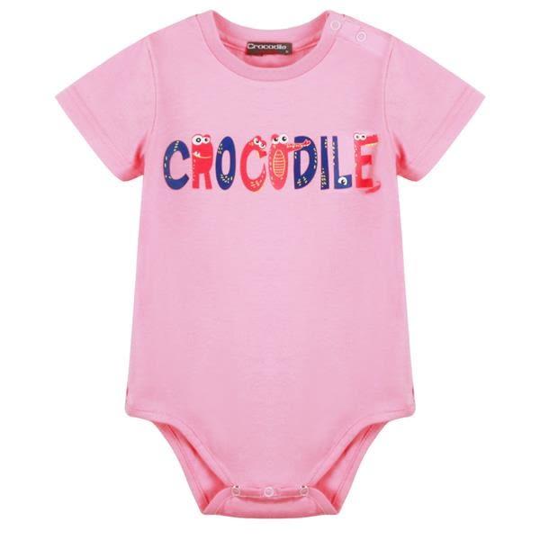 『小鱷魚童裝』俏皮鱷魚logo包屁衣(0號~01號)553585