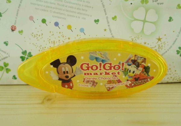 【震撼精品百貨】Micky Mouse_米奇/米妮 ~便利雙面膠-黃