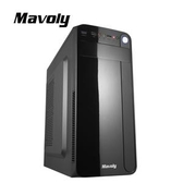 【綠蔭-免運】Mavoly 松聖 哈密瓜-黑 一大二小 USB3.0 黑化機殼