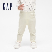 Gap嬰兒 布萊納系列簡約風格鬆緊內搭褲 663818-象牙白