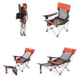 折疊椅戶外垂釣椅便攜式靠背午休床沙灘椅兩用陪護床自駕游野營床