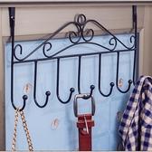 壁掛 門后掛鉤免釘門上掛衣架毛巾架門背式置物架無痕衣帽架壁 莎瓦迪卡