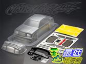 [9玉山最低比價網] 1/10 競速漂移改裝車殼 PC透明碳纖車殼 豐田皇冠 CROWN 190mm (透明版)