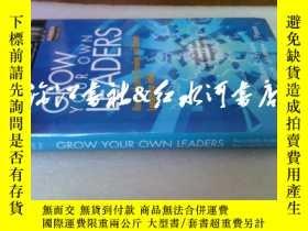二手書博民逛書店原版精裝護封grown罕見your own leaders:ho