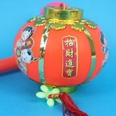 小圓燈 手提燈光小燈籠 傳統圓型燈籠(有音樂)/一袋50個入{促60}~富-85