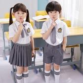 兒童演出服小學生表演服男童女童合唱服幼兒園園服畢業服夏裝