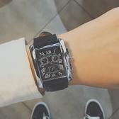ins超火的手錶2019新款手錶男學生韓版簡約潮流休閒方形 米希美衣