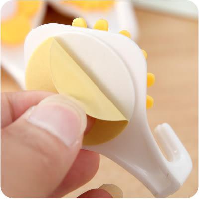 【全館5折】WaBao 可愛向日葵強力黏勾3個裝 掛勾 =D09595=