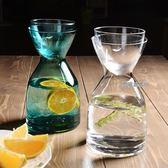 吉樂島彩色玻璃冷水壺創意果汁涼水瓶飲料瓶家用大容量涼水壺