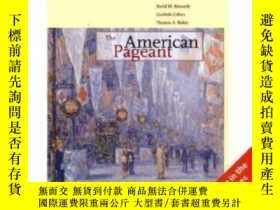 二手書博民逛書店The罕見American Pageant, International EditionY256260 Dav