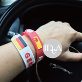 IDEA 2018俄羅斯世界足球賽 世界盃 手環 扣環 扣子 矽膠 飾品 運動 戶外 冠軍杯 德國 法國