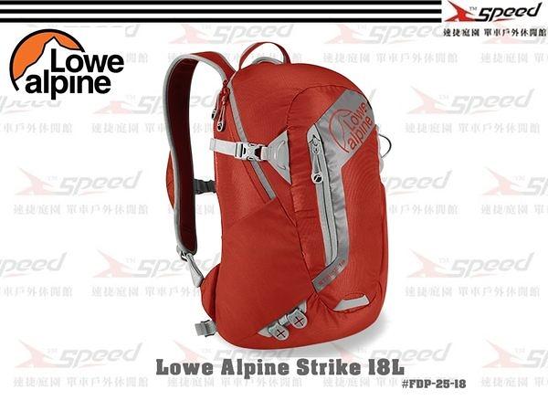 【速捷戶外】英國 Lowe Alpine-Lowe Strike 18背包(墨西哥紅)FDP-25-18 登山背包 旅行背包